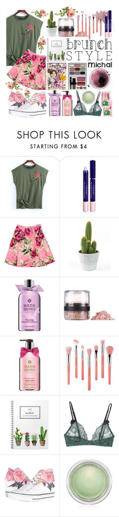 """""""Mother's Day Brunch Goals"""" by michal100-15-4 ❤ liked on Polyvore featuring Disney, Concord, Bare Escentuals, WithChic, By Terry, Love Moschino, Molton Brown, INIKA, Bdellium Tools and STELLA McCARTNEY"""