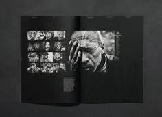 Parallax Magazine by Enle Li, via Behance