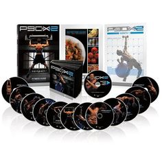 P90X2 continues your progress after P90X with cutting-edge training based on powerful new sports science 12 new breakthrough workouts across 13 DVDs that include more emphasis on your core, athletic function, balance, and agility Includes a comprehensive, customizable nutrition plan with vegan and grain-free options
