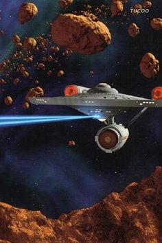 USS Enterprise locked in Battle