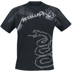 "Metallica T-Shirt ""Black Album Faded"" black • EMP"