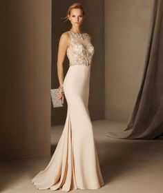 Bosnia - Sleeveless cocktail dress with a bateau neckline in tulle and crepe