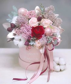 Beautiful Bouquet Of Flowers, Dried Flower Bouquet, Dried Flowers, Paper Flowers, Edible Bouquets, Floral Bouquets, Floral Wreath, Flower Box Gift, Flower Quotes