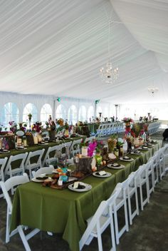Tent Draping at Historic Shady Lane! One of our newest amenities!