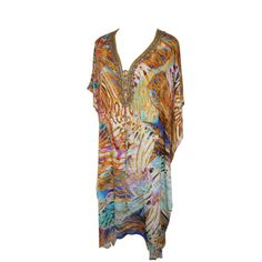 #Kaftan made of soft silk, is a perfect city style or a trendy beach look! http://www.bluebungalow.com.au