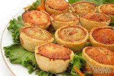 Receita de Empadinha de legumes em receitas de salgados, veja essa e outras receitas aqui!