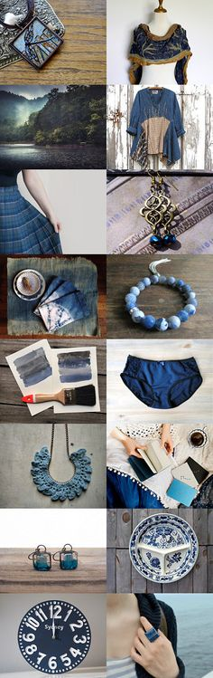 For the Love of Blue by Kadwell Enz on Etsy--Pinned with TreasuryPin.com