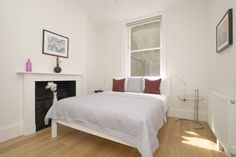Bedroom, Gloucester Serviced Apartments, Marylebone, London