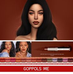 Mattemoiselle Plush Matte Lipstick at GOPPOLS Me • Sims 4 Updates
