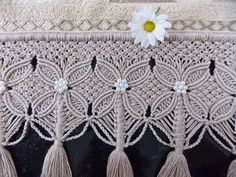 YouTube K Crafts, Yarn Crafts, Macrame Art, Macrame Knots, Joining Crochet Squares, Crochet Scarf Diagram, Macrame Curtain, Micro Macramé, Thread Art
