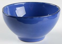 Coupe Cereal Bowl in the Marina Blu pattern by Vietri (italy)