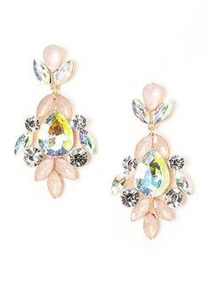 e70f7c2ba Another great find on Pink & Sparkle Cluster Teardrop Earrings by Felicia  LTD