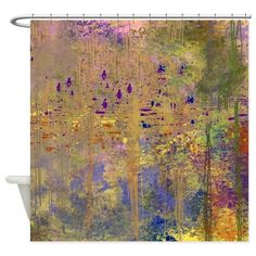 Reflections in the Water Shower Curtain on CafePress.com
