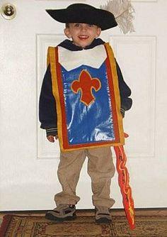 How to make a musketeer costume for halloween carnaval pinterest disfraz de mosquetero - Disfraz casero mosquetero ...