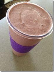 Berry Chocolate Protein shake!
