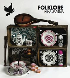 Folklore enamel range by Nina Jarema.