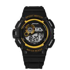 Männer Sport Uhren Wasserdicht Dive 50 Mt Digital Led Military Watch Fashion Casual Elektronik Armbanduhren Hot Clock Digitale Uhren Uhren