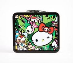 tokidoki x Hello Kitty Metal Lunch Box: Reunion