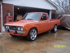 1978 Datsun 620 was owner by KING,S GARGAGE of montgomery, pa.