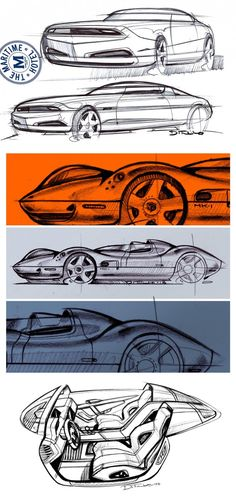 Daily Sketch: studies by Michael DiTullo  gallery:  Michael's sketchbook:http://www.coroflot.com/d2lo/Sketches