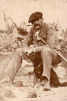 1890Photo-Novelist-Benito Perez (Benito Maria de los Dolores Perez Galdos) (1843-1920)