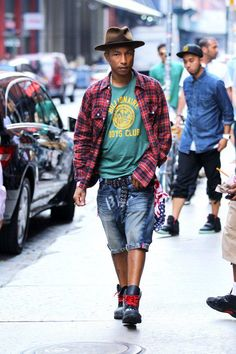 Pharrell Williams where can I find a guy like this??