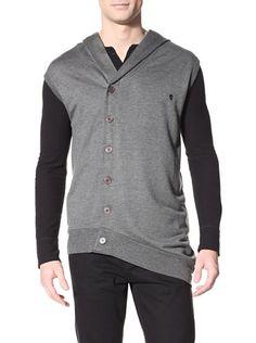 65% OFF Alexander McQueen Men's Hooded Sweatshirt (Dark Grey)