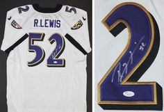 e6a29c8bf AAA Sports Memorabilia LLC - Ray Lewis Autographed Baltimore Ravens  Authentic NIKE Jersey with JSA Witnessed