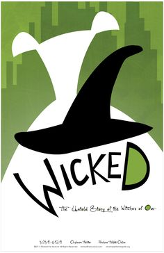 For > Wicked Broadway Posters Theatre Geek, Music Theater, Broadway Posters, The Witches Of Oz, Land Of Oz, Defying Gravity, Wicked Witch, Girl Blog, Wizard Of Oz