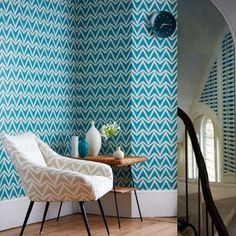 Dhurrie wallpaper by Scion | Wabi Sabi collection