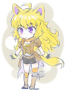 Mmm... I guess I'd be seeing some foxy blondes with Jaune and Yang after a while