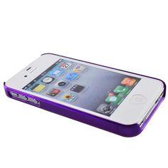 Plastic Bumper Frame Case for iPhone 4/4s (Purple)