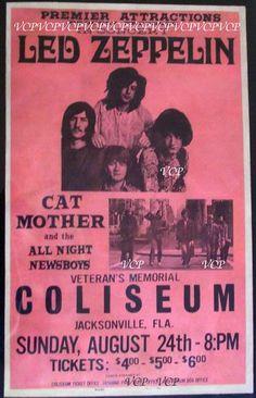 Led Zeppelin - 1969, Jacksonville, FL