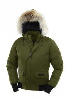 New Styles Günstig Chilliwack Bomber Parka Greentea Canada