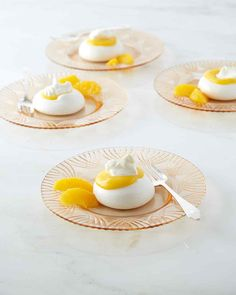 Crisp meringues, tangy orange curd, and rich whipped cream come together in one sensational dessert. Martha made this recipe on episode…