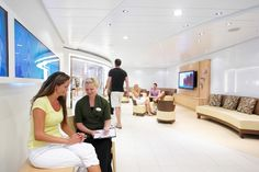 Let us pamper you at the Vitality Spa onboard Oasis of the Seas #cruising #travel