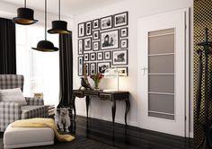 DVEŘE: Interiérové lakované dveře SONYA, akrylové barvy RAL a NCS | SIKO Entryway Bench, Gallery Wall, Wall Decor, House Design, Interior Design, Frame, Furniture, Home Decor, Romans