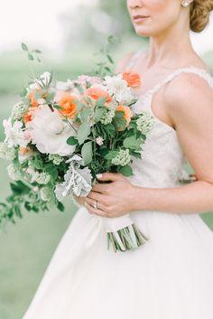 Stunning Arrangement for Moss Mountain Farm Wedding Farm Wedding, Blue Wedding, Silk And Willow, Mountain Weddings, Event Photographer, Arkansas, Special Events, Theory, One Shoulder Wedding Dress