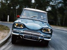 Vergeten model: Citroën Ami 6, het lelijke eendje… - VROOM.be