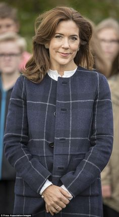 Patron : Mary, Crown Princess of Denmark, toured Lille Næstved School in Denmark to celebrate education