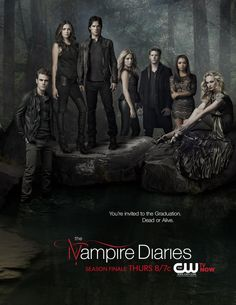 The Vampire Diaries Season 4 Finale Sweep Poster Mai #TVD