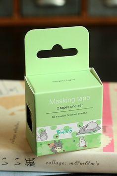 Kawaii Masking Tape Set - Totoro
