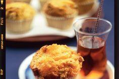 Mandarijnenmuffins (i.p.v. Sinaasappelmarmelade kan je ook abrikozenjam gebruiken)