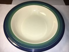 A personal favorite from my Etsy shop https://www.etsy.com/listing/509558709/pfaltzgraff-collectors-soup-bowl-825