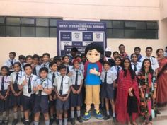 As part of the latest edition of Guru Cool – R Se Rap campaign, children's favourite character Shiva performed the rap LIVE along with the at Ryan International School. Student Teacher, Student Life, Rap Battle, International School, Teachers' Day, Fun Learning, Shiva, Fun Activities, Rapper