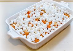 Candied Yams with Marshmallows before baking