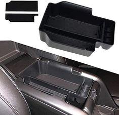 Hoypeyfiy Center Console Armrest Organizer for 2014-2019 Tundra Center Console Insert Tray Armrest Box Glove Box Organizer Dividers