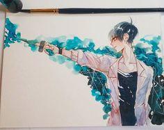 Anime Art, Anime Drawings Boy, Cute Art, Illustration Art, Art, Anime Drawings Tutorials, Boy Art, Anime Drawings, Pop Art Wallpaper