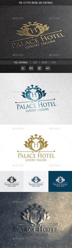 Royal Palace  Luxury Hotel — Vector EPS #royal #party • Available here → https://graphicriver.net/item/royal-palace-luxury-hotel/9990360?ref=pxcr