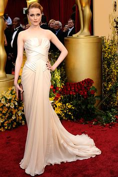 Evan Rachel Wood - Oscars 2009 in Elie Saab